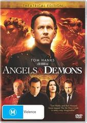 Angels & Demons - Theatrical Edition on DVD