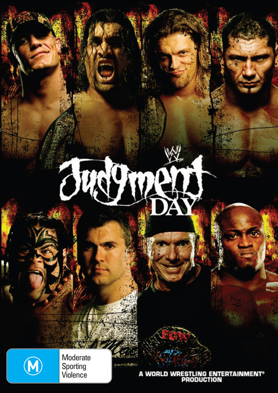 WWE - Judgment Day 2007 on DVD