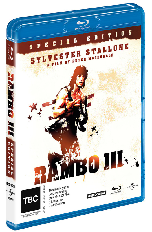 Rambo - First Blood 3 Special Edition on Blu-ray