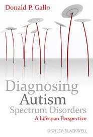 Diagnosing Autism Spectrum Disorders by Donald P. Gallo image