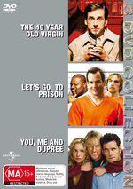 40 Year Old Virgin / Let's Go To Prison / You Me And Dupree - 3 DVD Collection (3 Disc Set) on DVD