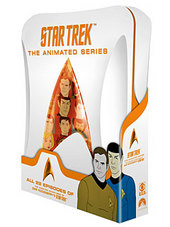 Star Trek - The Animated Series (4 Disc Set) on DVD