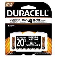 Duracell Hearing Aid Battery 312 8pk