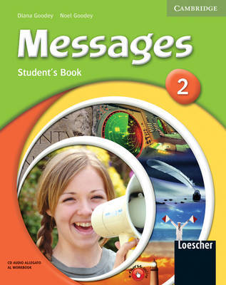 Messages 2 Student's Pack Italian Edition: Level 2 by David Bolton image