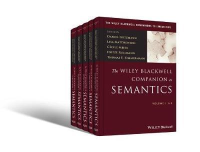 The Wiley Blackwell Companion to Semantics