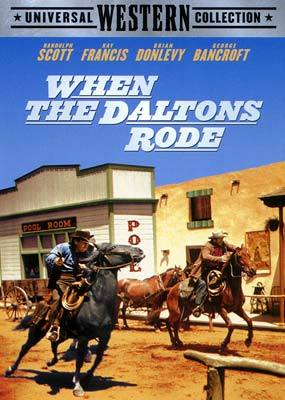 When The Daltons Rode on DVD