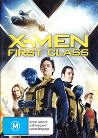 X-Men: First Class on DVD
