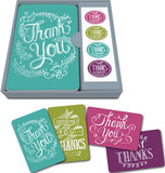 Notecard Set: Thank You - Chalkboard