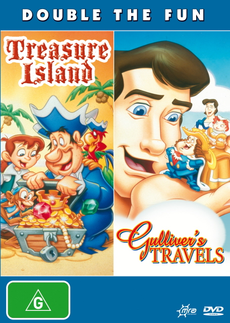 Treasure Island / Gulliver's Travels on DVD image