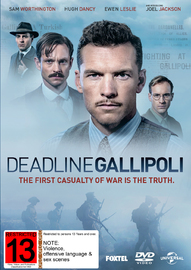 Deadline: Gallipoli on DVD