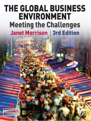 The Global Business Environment by Janet Morrison