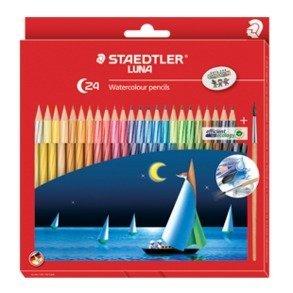Staedtler Luna 137 Watercolor Pencils (24 Pack) image