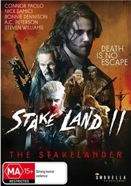 Stake Land II: The Stakelander on DVD