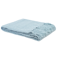 Bambury Boucle Throw Rug (Sky) image
