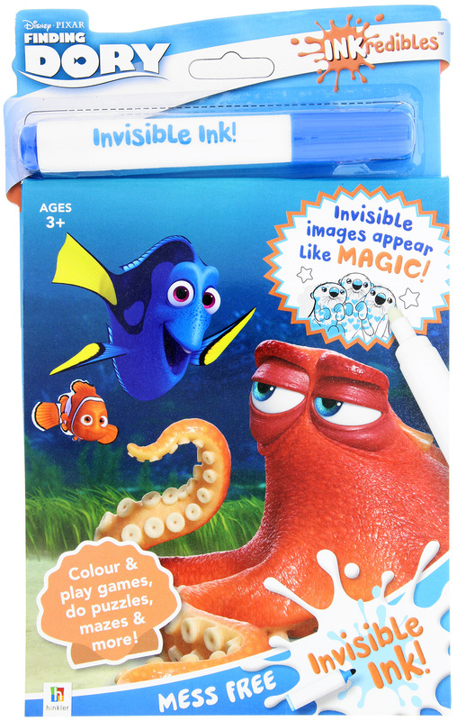 Inkredibles: Finding Dory - Invisible Ink Set