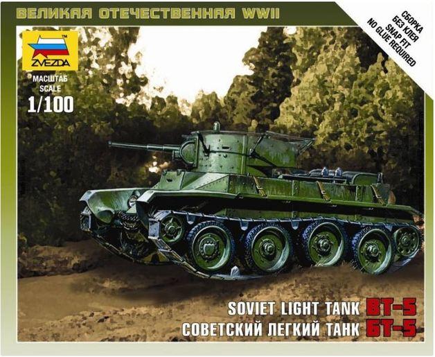 Zvezda 1/100 Soviet BT-5
