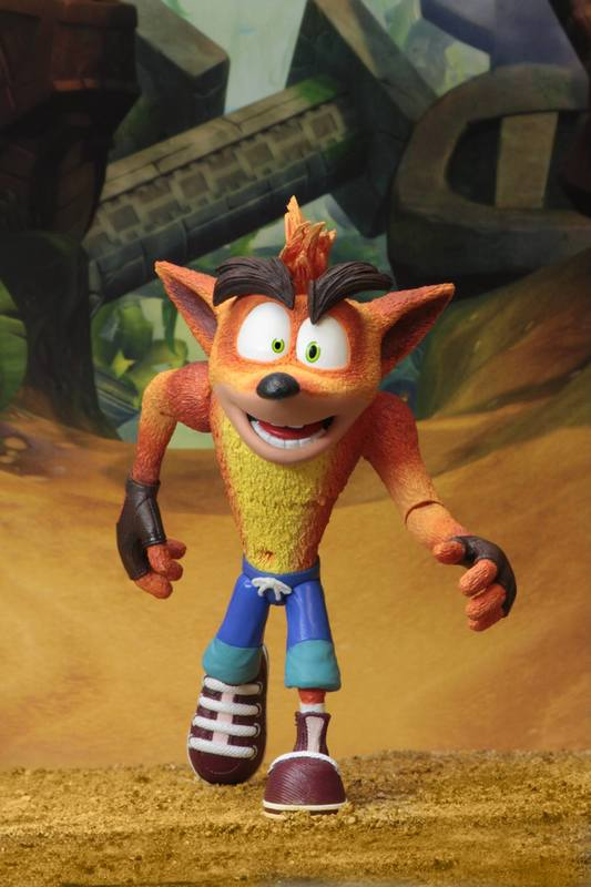 "Crash Bandicoot - 7"" Action Figure"