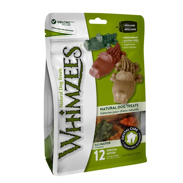 Whimzees: Alligator- Medium 12 Pack