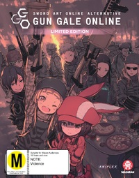 Sword Art Online Alternative: Gun Gale Online - Part 2 (Eps 7-12) Limited Edition on Blu-ray