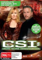 CSI - Las Vegas: Complete Season 6 (6 Disc Set) on DVD