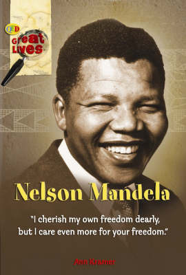 Nelson Mandela by Ann Kramer