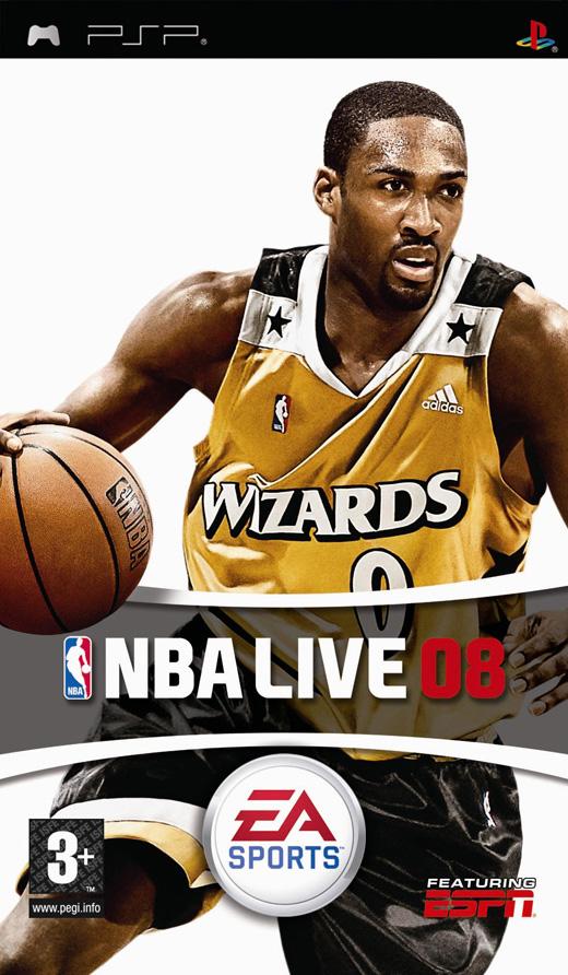 NBA Live 08 for PSP image