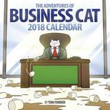 Business Cat 2018 Wall Calendar by Tom Fonder