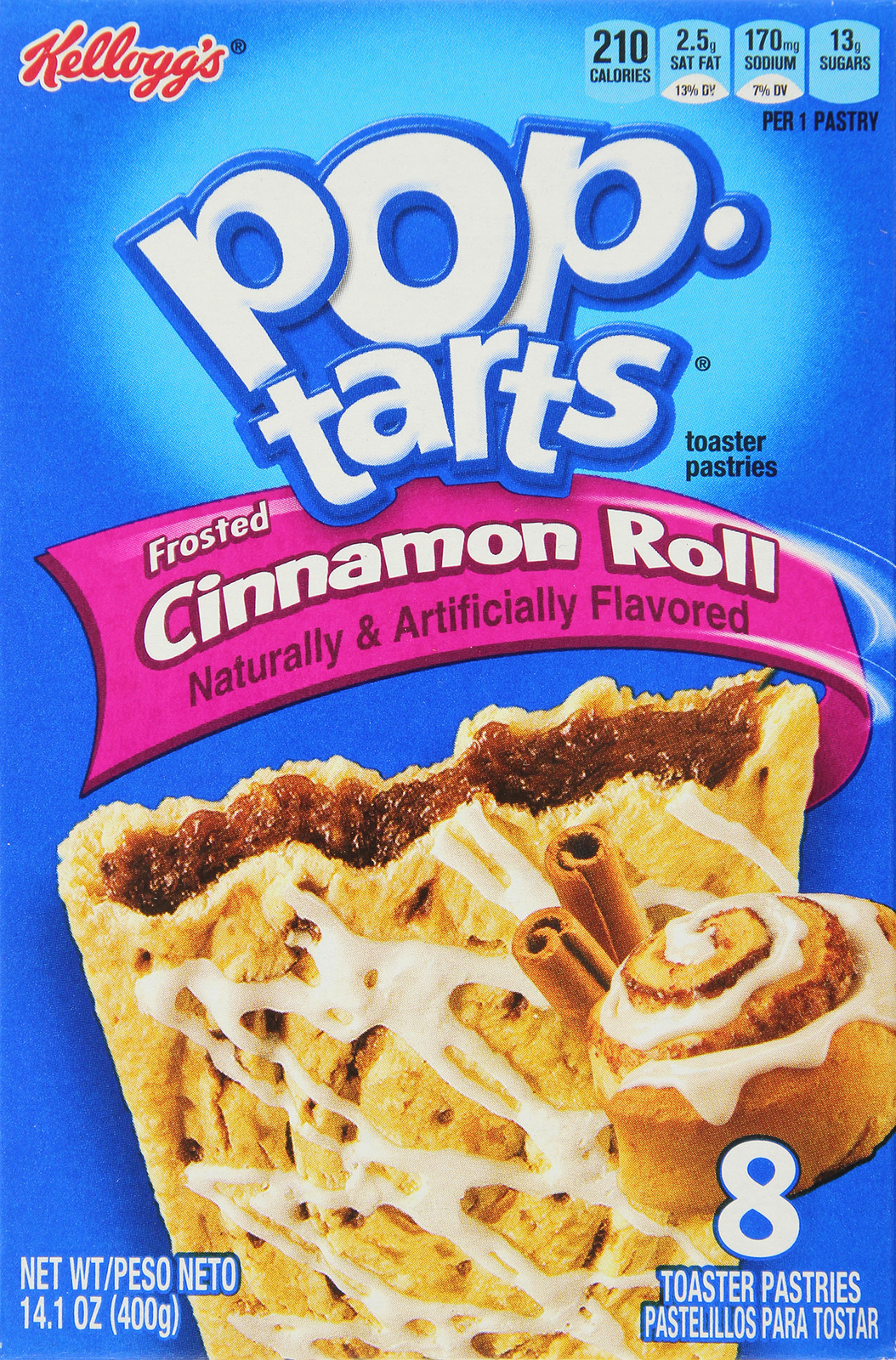 Kellogg's Pop Tarts Frosted Cinnamon Roll (8 Pack) image