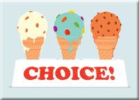 You Choose Fridge Magnet - Glenn Jones