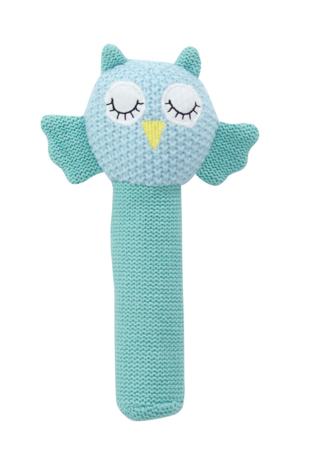 Hand Rattle - Crochet Owl image