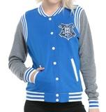 Harry Potter: Ravenclaw - Slim-Fit Varsity Jacket (Large)
