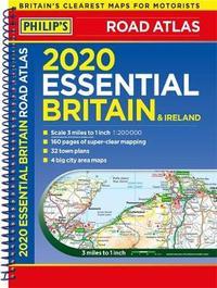 Philip's Essential Road Atlas Britain and Ireland by Philip's Maps