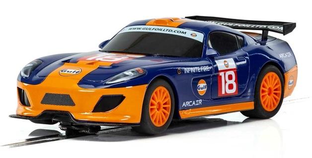 Scalextric: Team GT Gulf #18 - Slot Car
