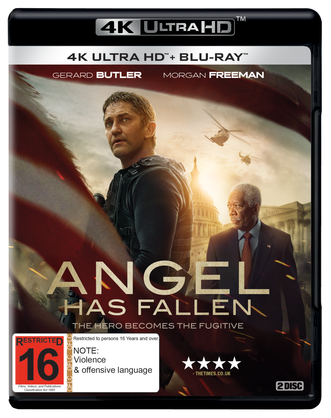 Angel Has Fallen (4K Ultra HD Blu-ray) on UHD Blu-ray image