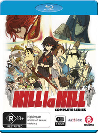 Kill La Kill - Complete Series on Blu-ray image