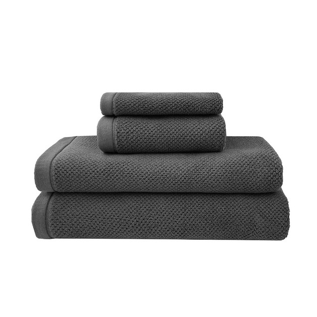 Bambury: Hand Towel - Charcoal