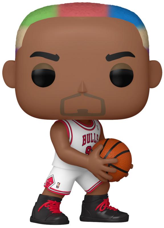 NBA Legends: Dennis Rodman (Bulls Home) - Pop! Vinyl Figure