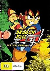 Dragon Ball GT - Lost Episodes: Collection (5 Disc Set) on DVD