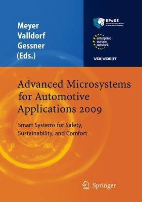 Advanced Microsystems for Automotive Applications 2009 by Gereon Meyer image