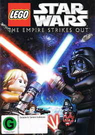 Star Wars Lego: The Empire Strikes Out on DVD