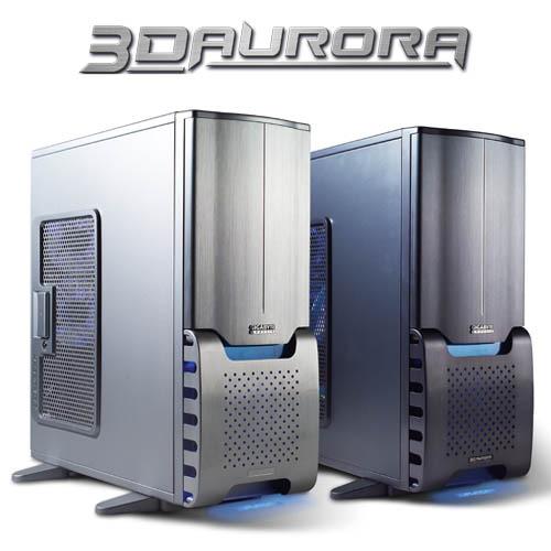GIGABYTE AURORA 3D ATX CASE 3 FANS+FIREWIRE+WINDOW BLACK