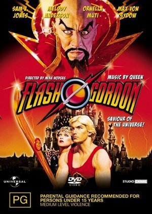 Flash Gordon (1980) on DVD