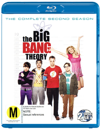The Big Bang Theory - The Complete Second Season on Blu-ray