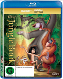 The Jungle Book (1967) on Blu-ray