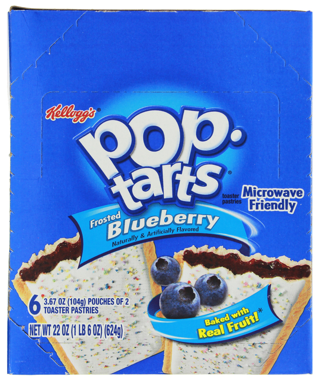 Kellogg's Pop Tarts Frosted Blueberry (12 Pack)