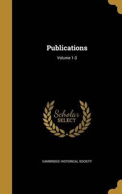 Publications; Volume 1-3 image