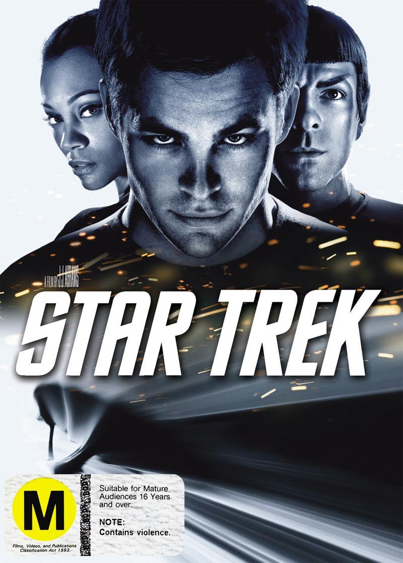 Star Trek XI on DVD image