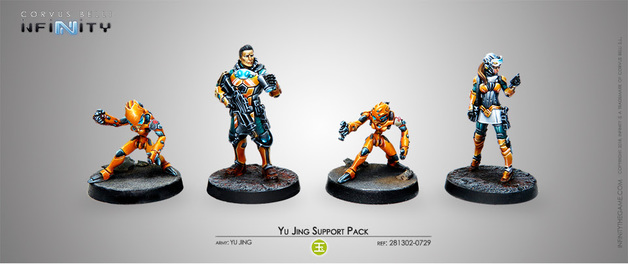 Infinity: Yu Jing Support Pack