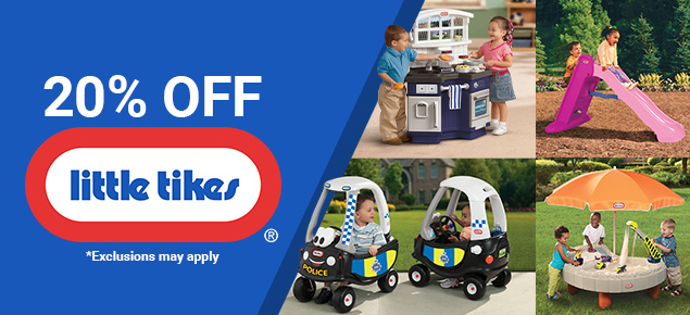 20% off Little Tikes!