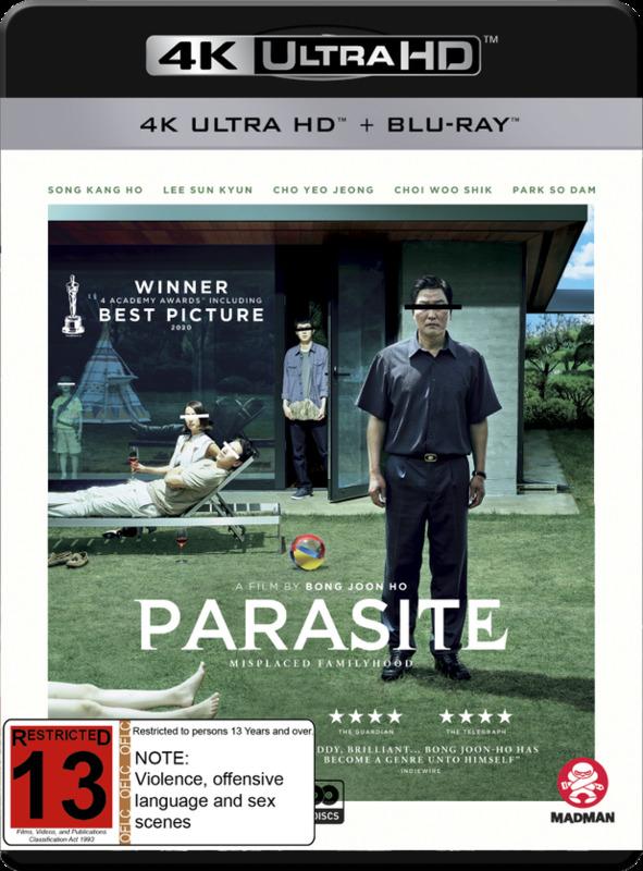 Parasite (4K UHD + Blu-Ray) on Blu-ray